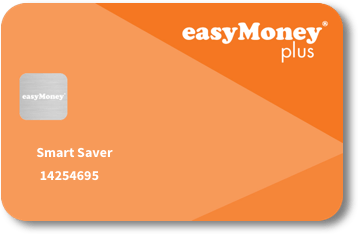 easyMoney plus card